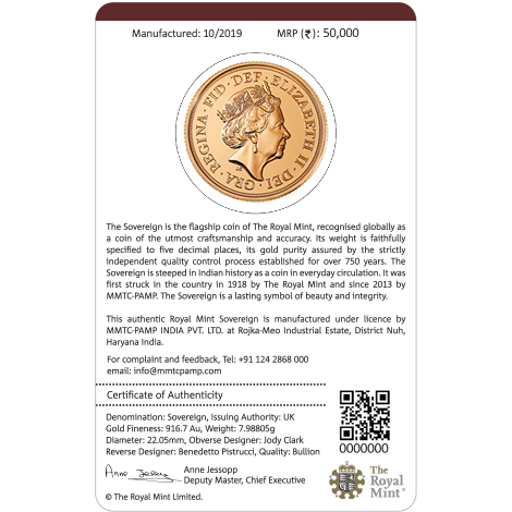 Certified & Real Gold & Silver Sovereign Minted Coins & Ingots